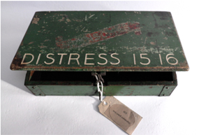 Distressed Green Box, Culturelines Sans Frontiers Jane McAdam Freud